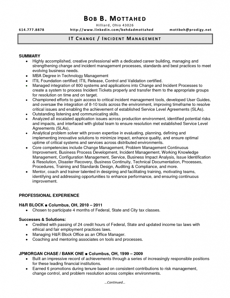incident manager resume printable planner templates
