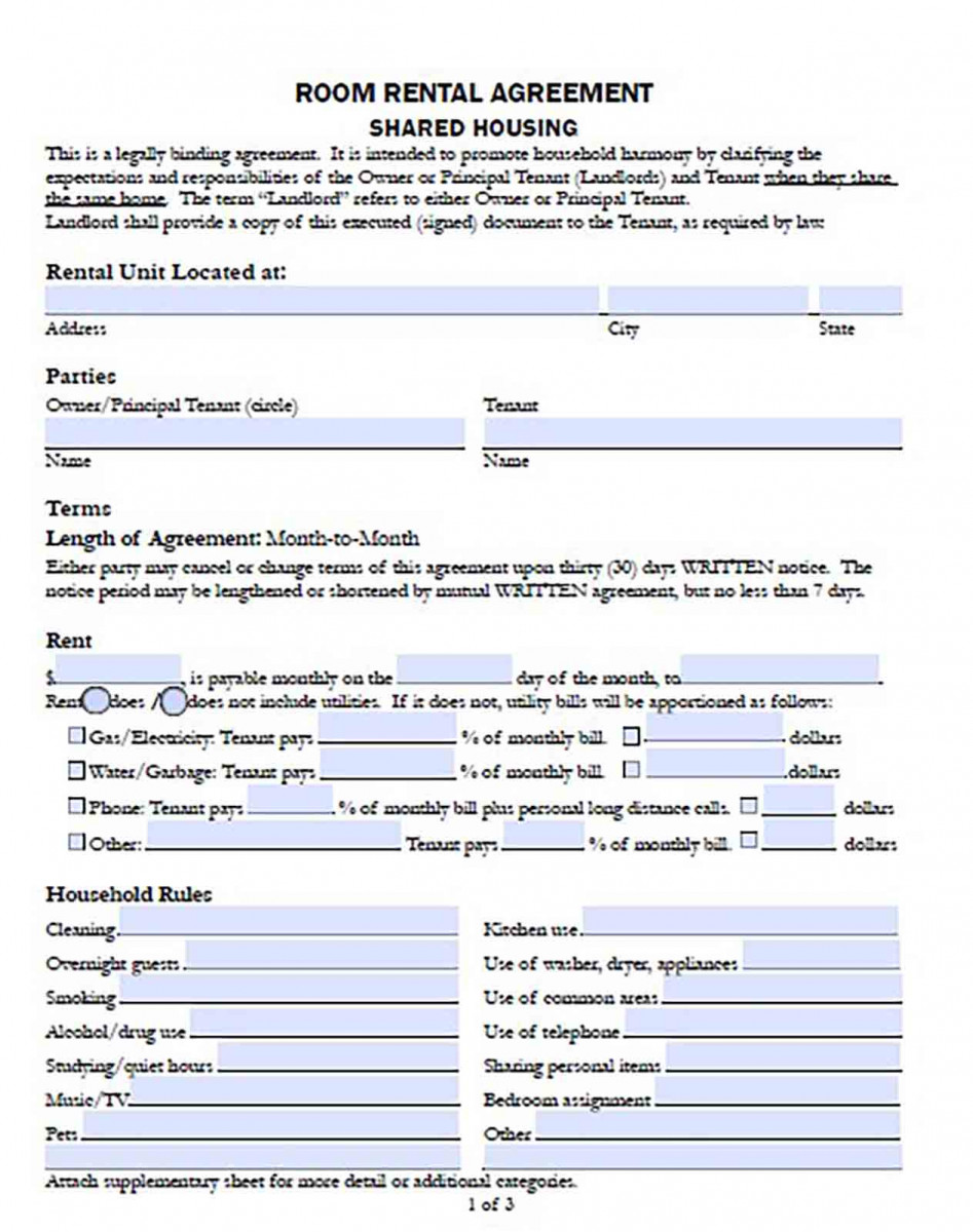 Basic Rental Agreement templates