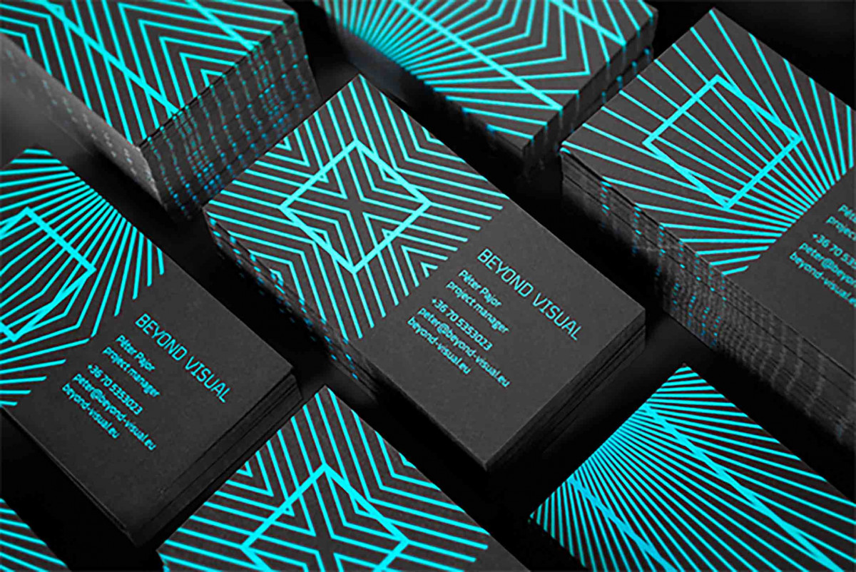 Beyond Visual Staples Business Cards