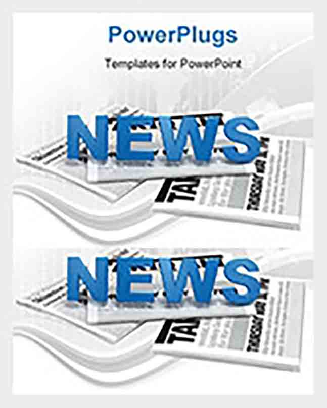 Blank Powerpoint Newspaper Sample templates