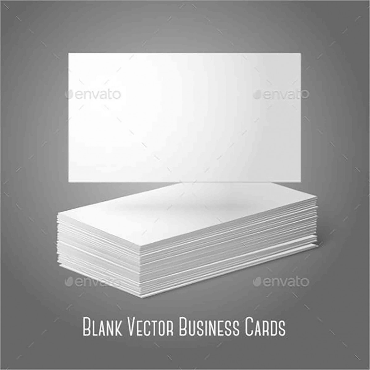 Blank Staple Business Card