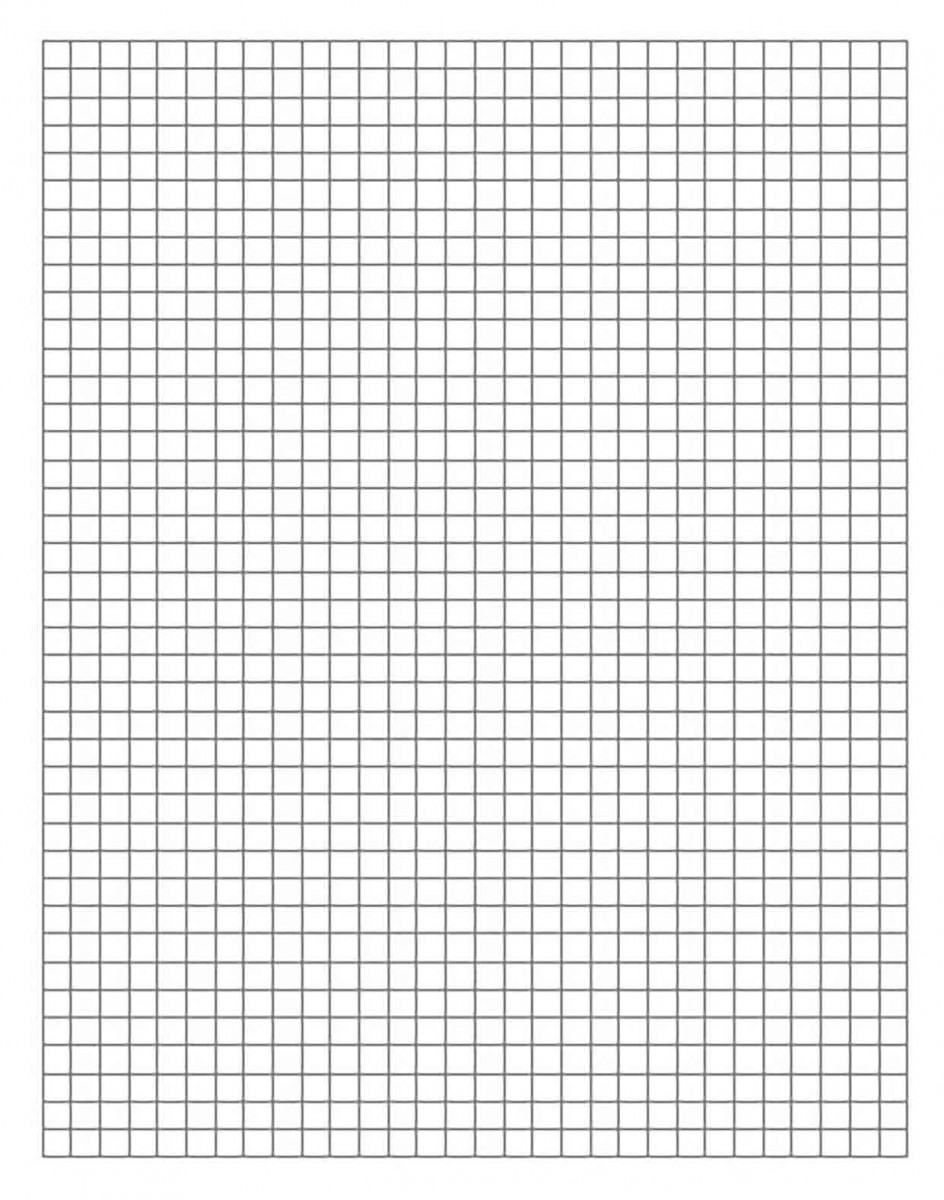 College Ruled Graph Paper