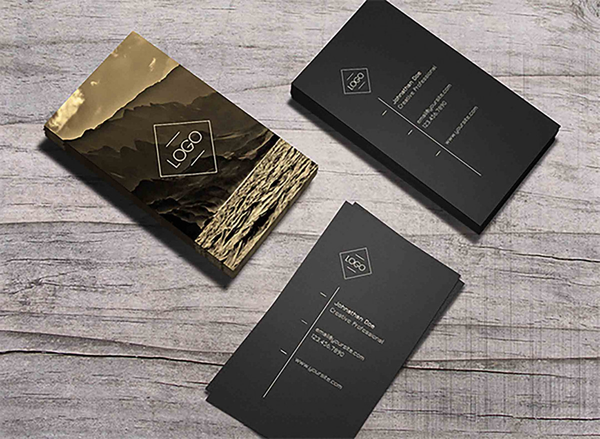 Ember Staples Business Cards Premium