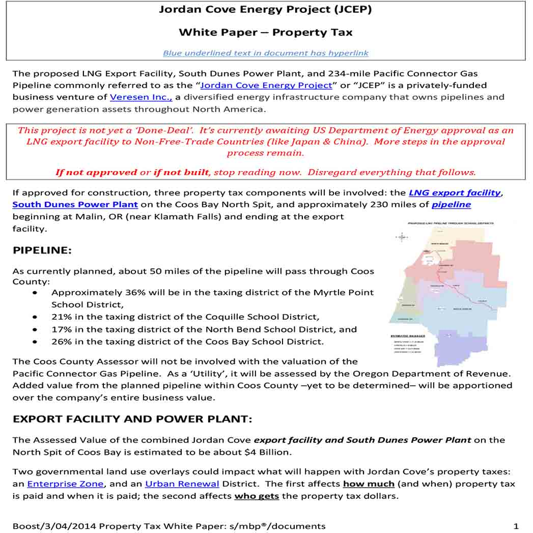 Energy Project White Paper 1