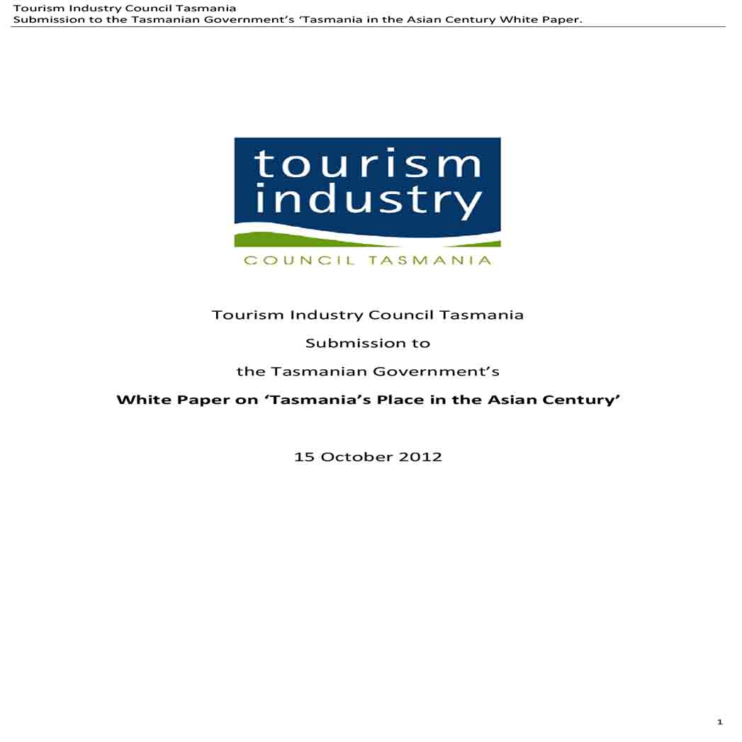 Industry Council White Paper 1