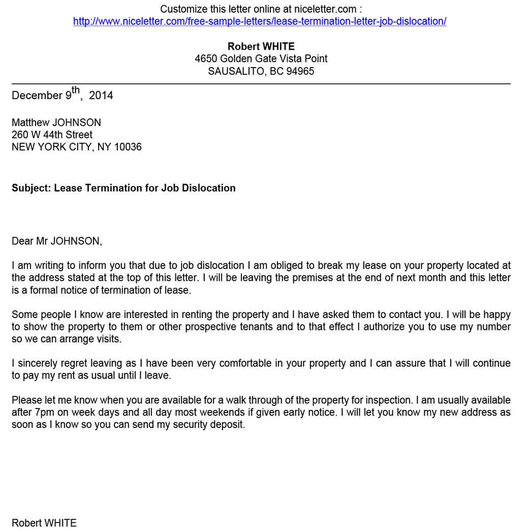 End Apartment Lease Letter from templatedocs.net