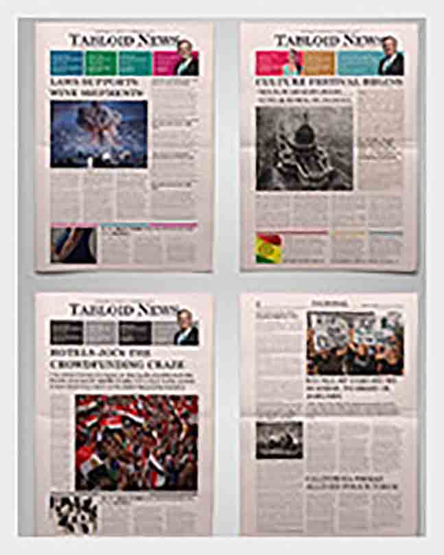 Newspaper Front Page templates