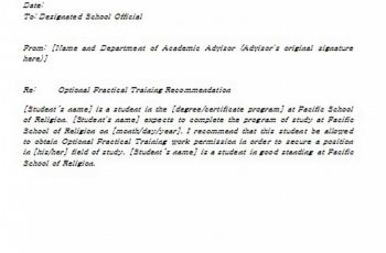 Recommendation Letter for Faculty Position Sample