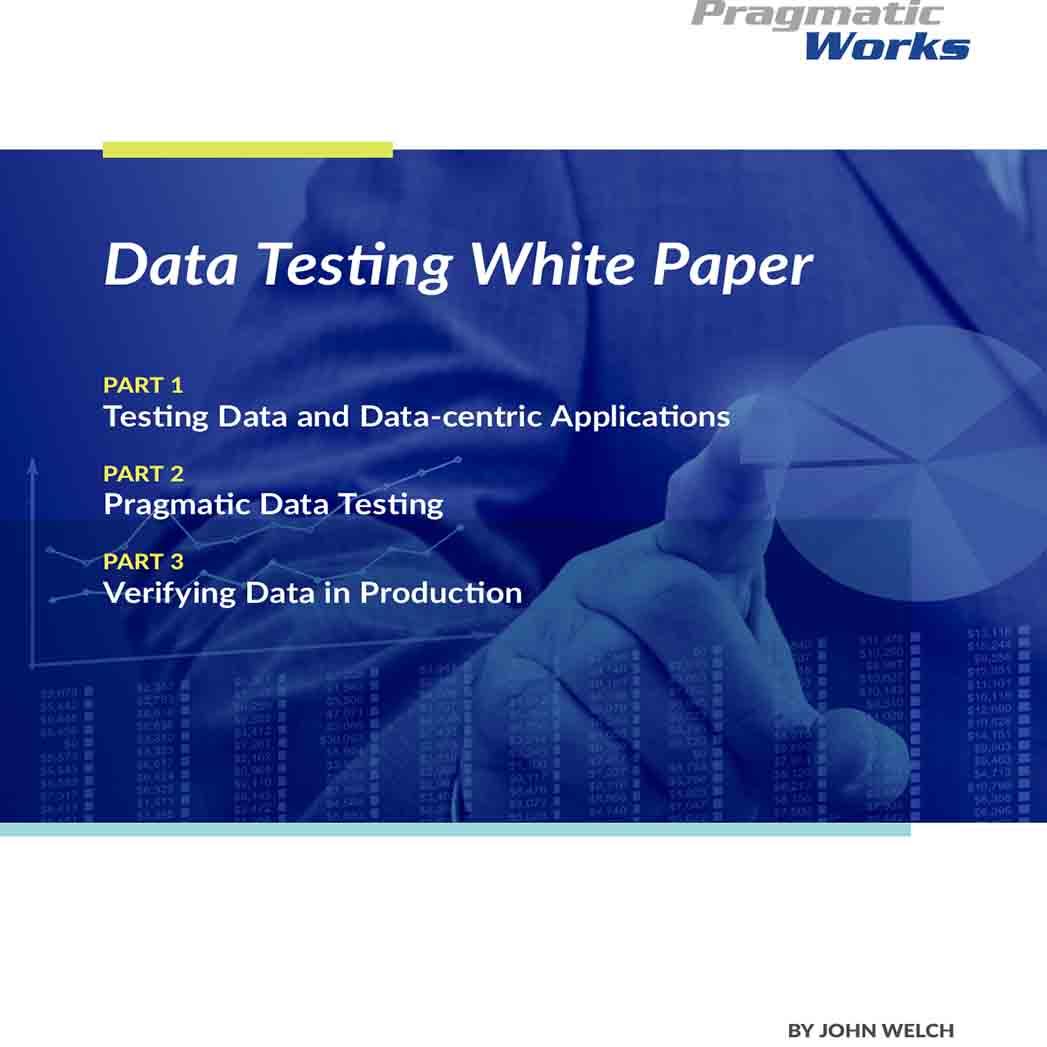 White Paper for Data Testing 1