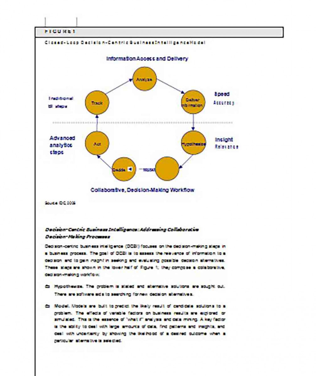White Paper on Business Intelligence