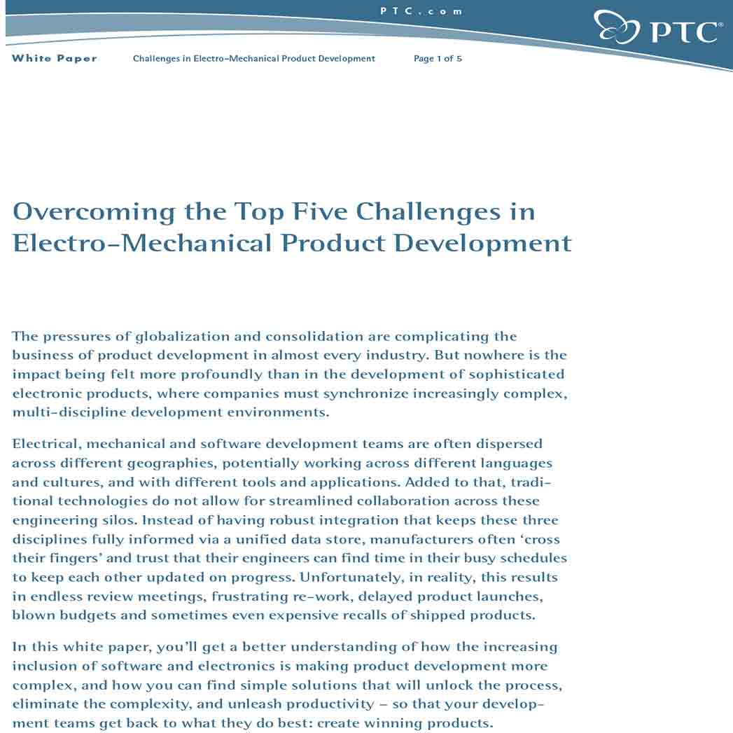 White Paper on Mechanical Product 1